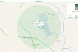 find my iphone location