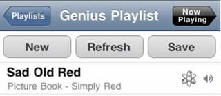 iOS 6 playlist