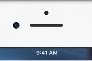 iPhone 7 status bar