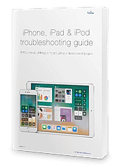 iPhone troubleshooting guide - cover