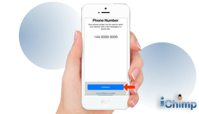 Apple ID verify phone number