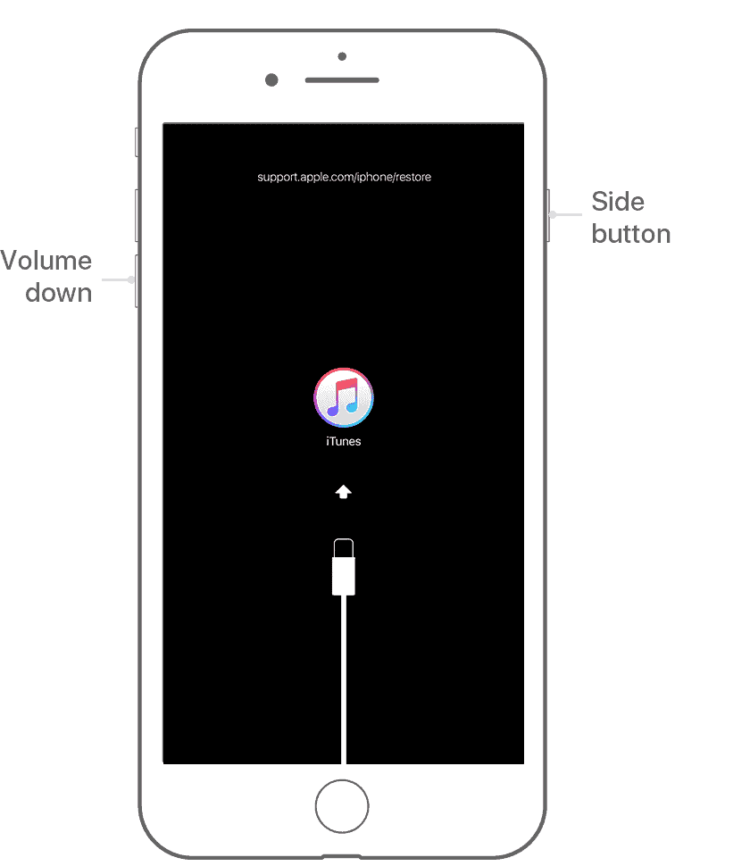 iphone 7 recovery mode