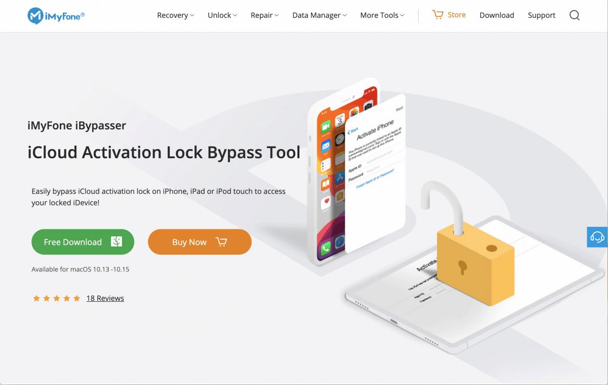 iBypasser webpage