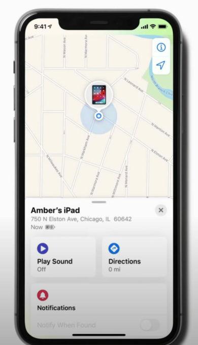 device location
