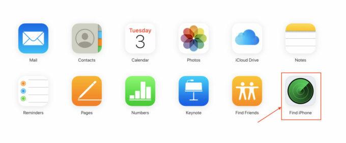 iCloud Find My