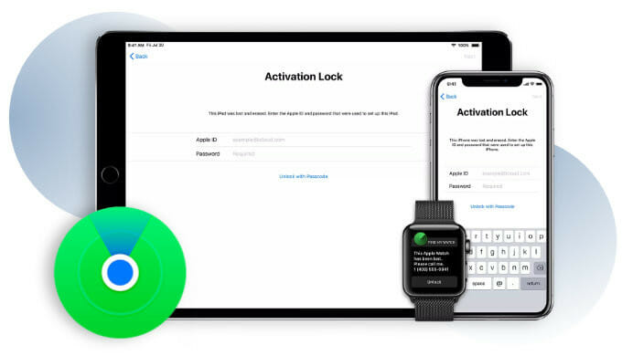 bypass activation lock on Apple devices