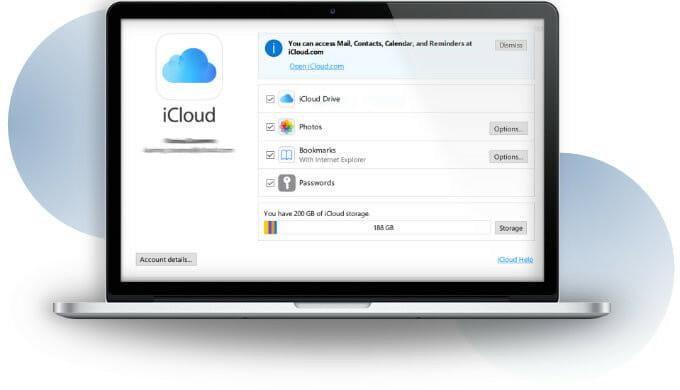 iCloud account on macbook