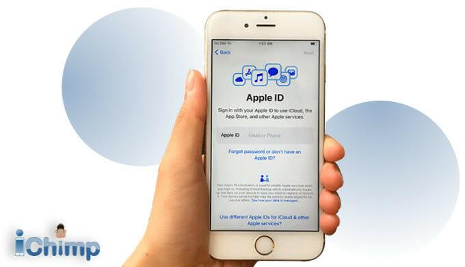 setup Apple ID