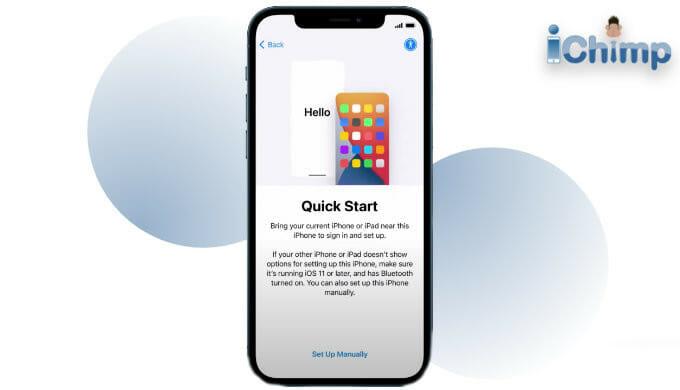 iPhone quick start