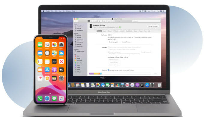 how to backup iPhone to your Mac