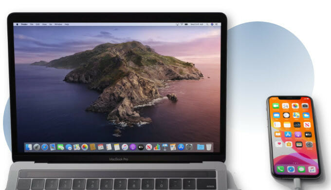 connect iPhone to your Mac