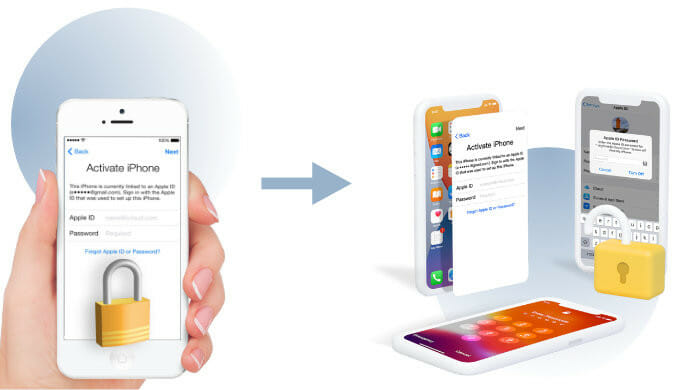 remove iCloud without the previous owner