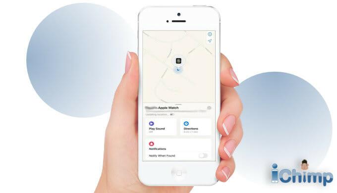 apple watch location