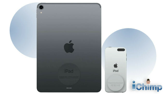 iPod & iPad IMEI location on the rear of the device
