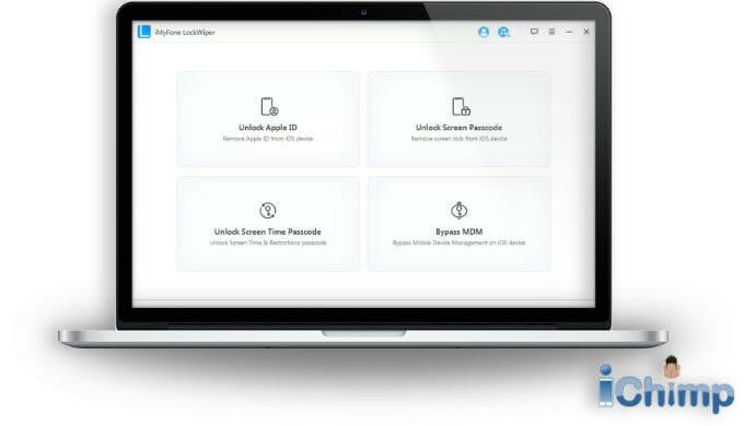 Click unlock screen passcode