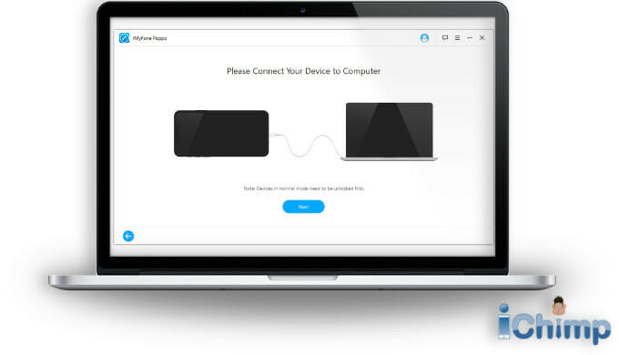 Fixppro: Connect device to computer